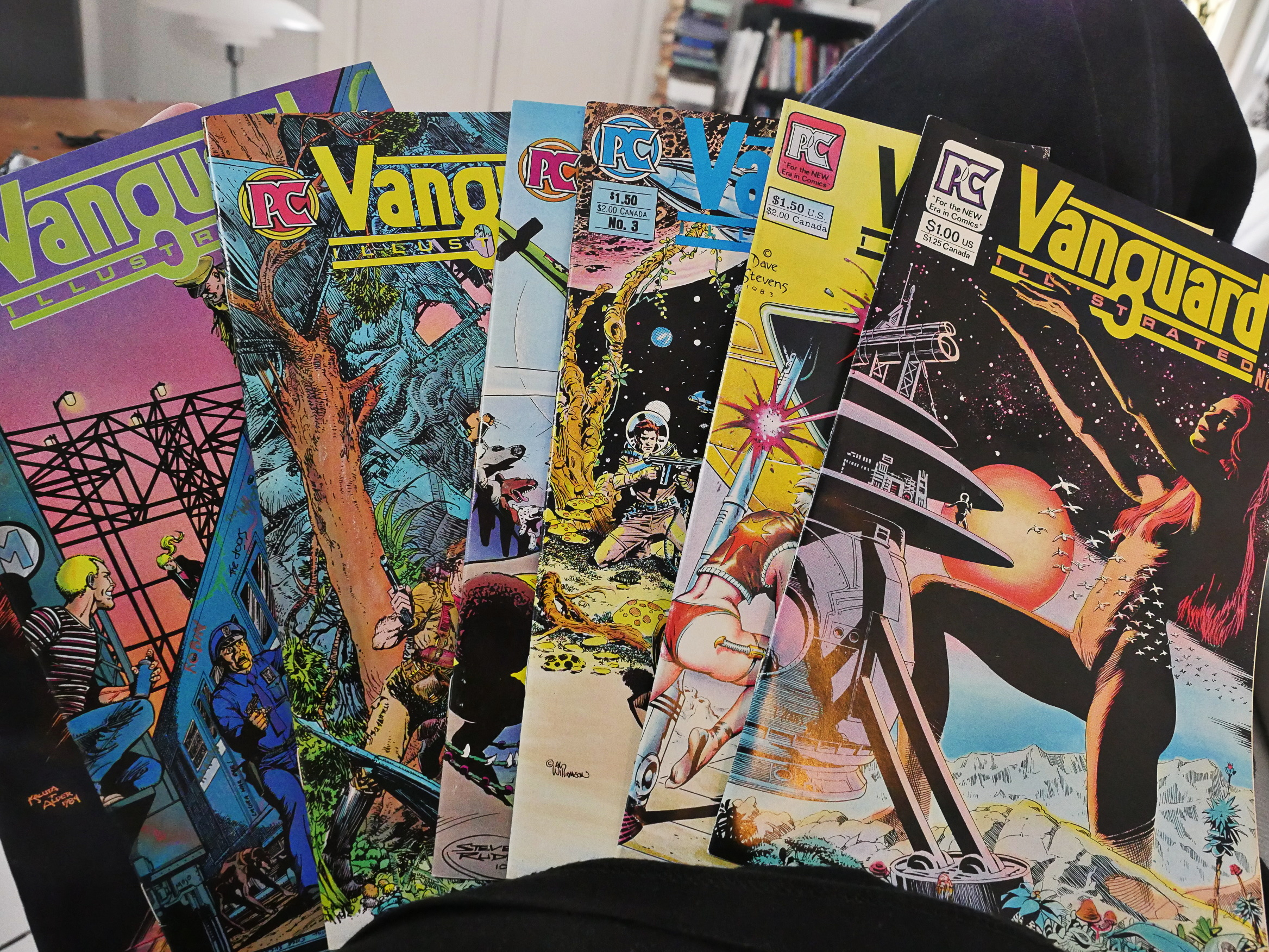 1983: Vanguard Illustrated